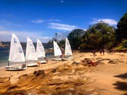 Those are some tiny boats. PC: Stephanie Burke