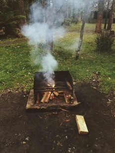 Making fires in the rains