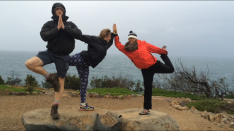 Champion yogis working with the elements